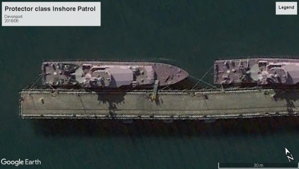 Protector class inshore Devonport 2016