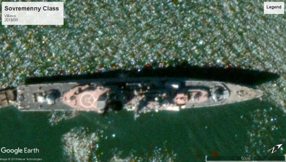 sovremenny class destroyer Vilkovo 2019