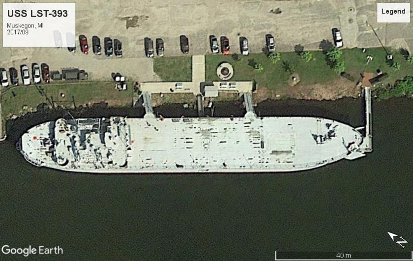 USS LST-393 Muskegon 2017