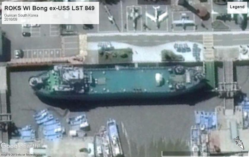 USS LST 849 Gunsan Korea 2016