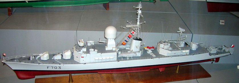 Aconit_frigate_model