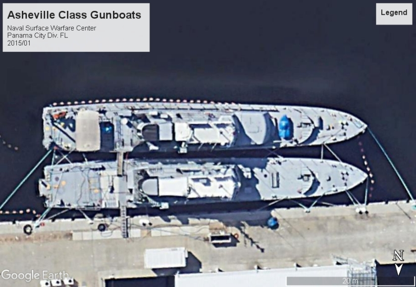 Asheville Class US Gunboats Panama City FL
