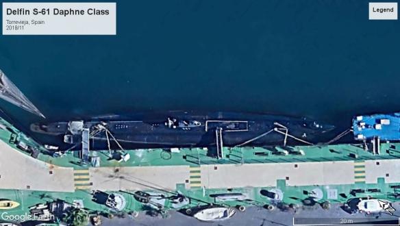 Delfin, Daphne Class SS Torrevieja 2018