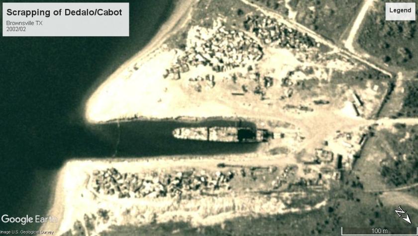 ex-USS Cabot ex_Dedalo Brownsville 2002
