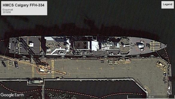 HMCS Calgary FFH-335 Esquimalt 2016