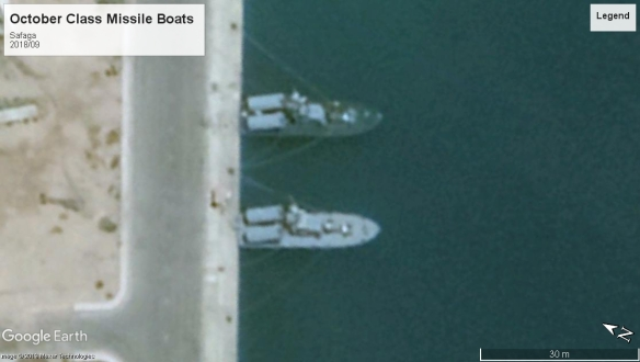 October class Missile boats Safaga 2018
