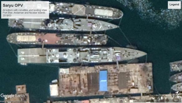 Saryu class OPV port blair 2019