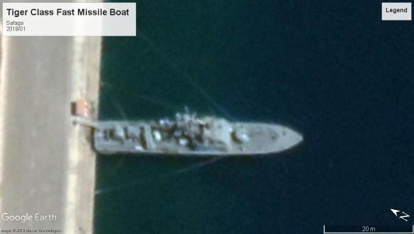 Tiger class missile boat Safaga 2019