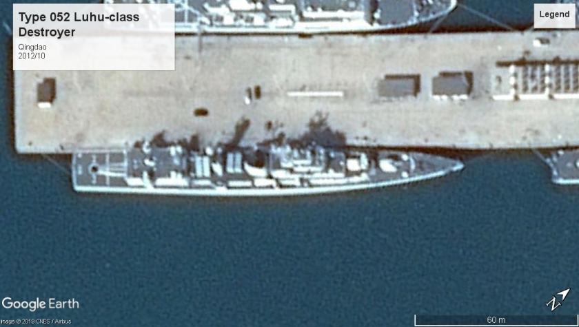Type 052 Luhu-class DD Qingdoa 2012
