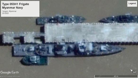 Type 053H1 frigate Myanmar
