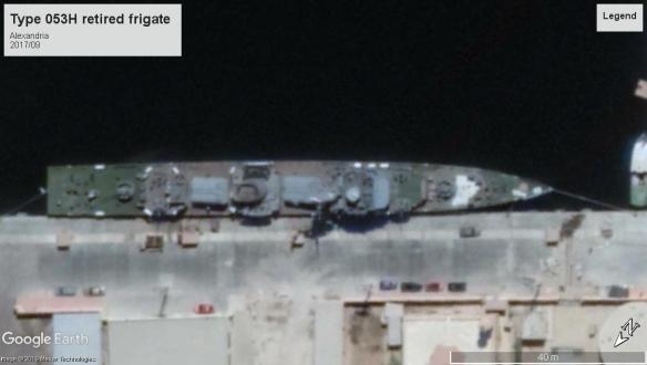Type053H Frigate Alexandria 2018