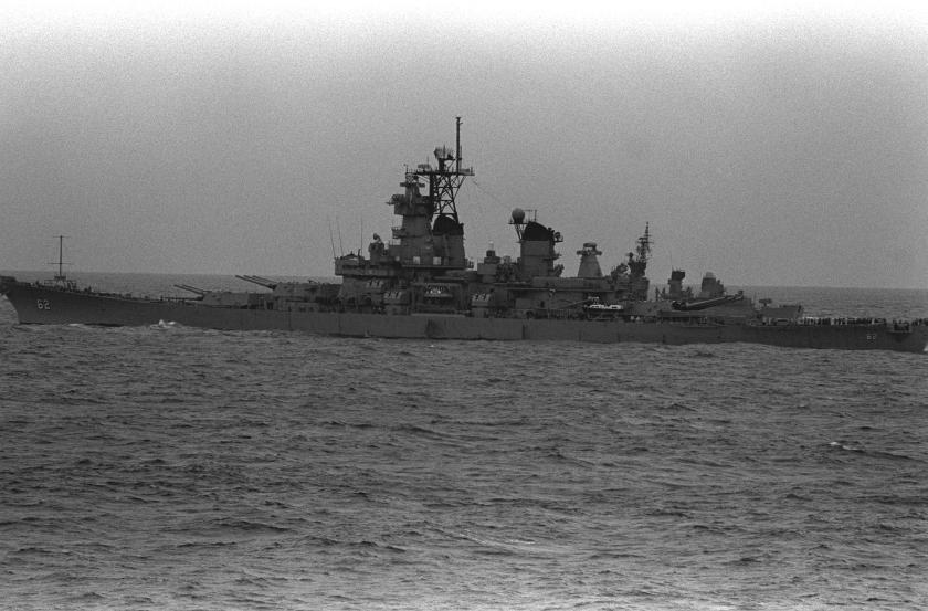 USS New Jersey NARA 1989