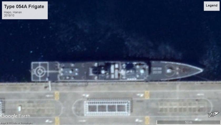Type 054A frigate Haipo 2018