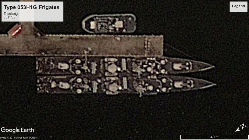 Type053H1G Frigate Zhanjiang 2011