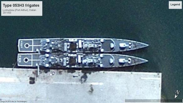 Type053H3 frigates Lvshunkou 2011-03.jpg