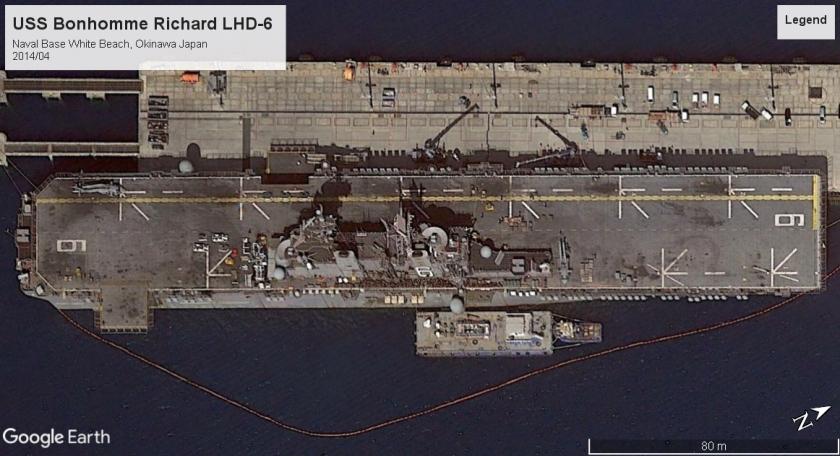 USS Bonhomme Richard LHD-6 Okinawa 2014