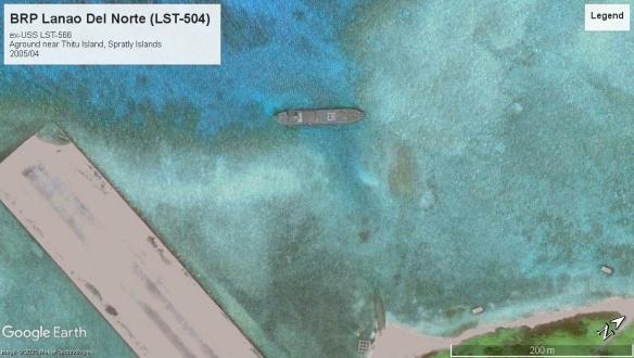 BRP Lanao Del Norte (LST-504) Thitu Island 2005