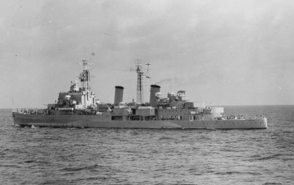 HMS Belfast CCC-2 930 1962