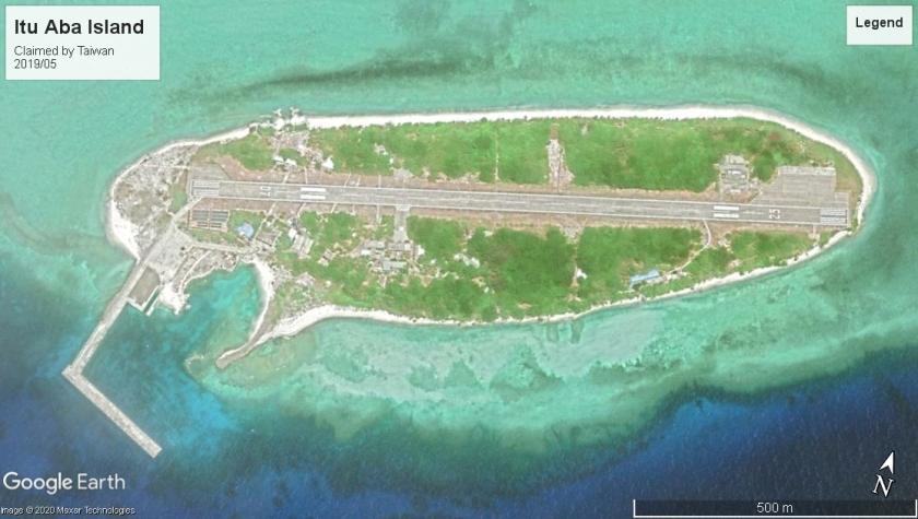 Itu Aba Island Taiwan claim 2019