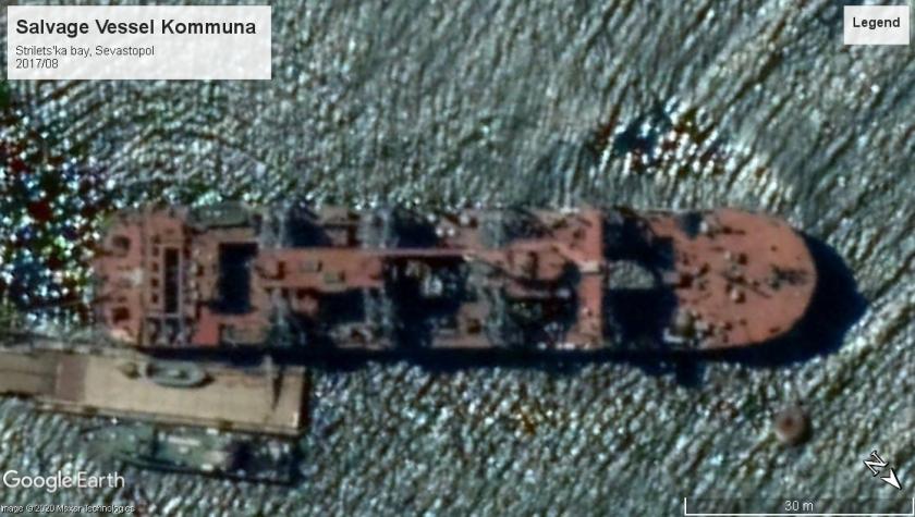 Kommuna salvage vessel Sevastopol 2017