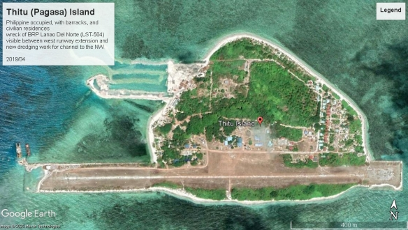 Thitu Island 2019