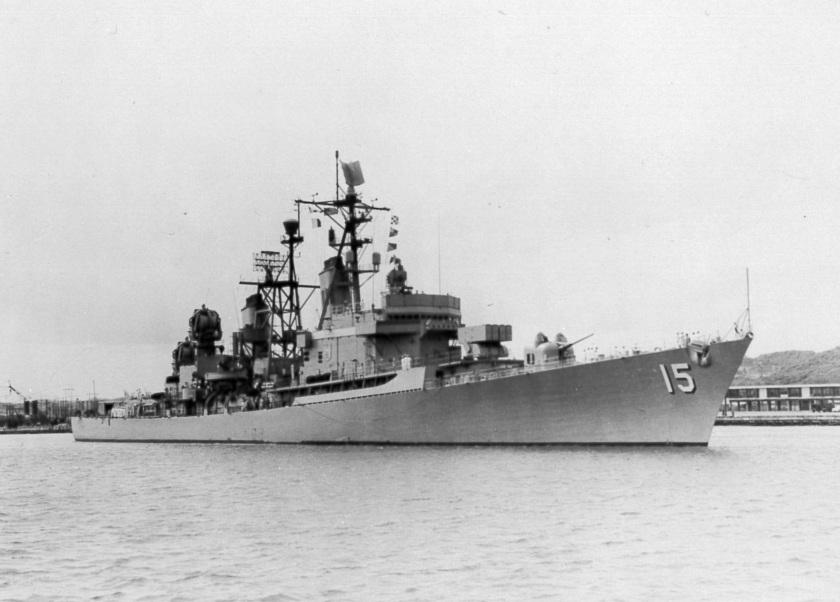USS Preble DLG-15 E-66466 Esquimalt 1962