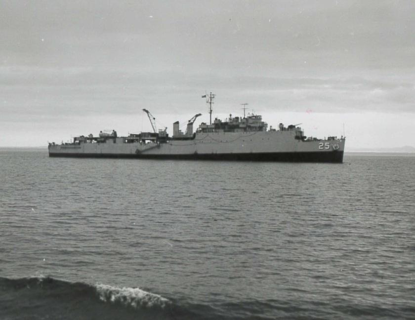 USS San Marcos LAB-2362 1957