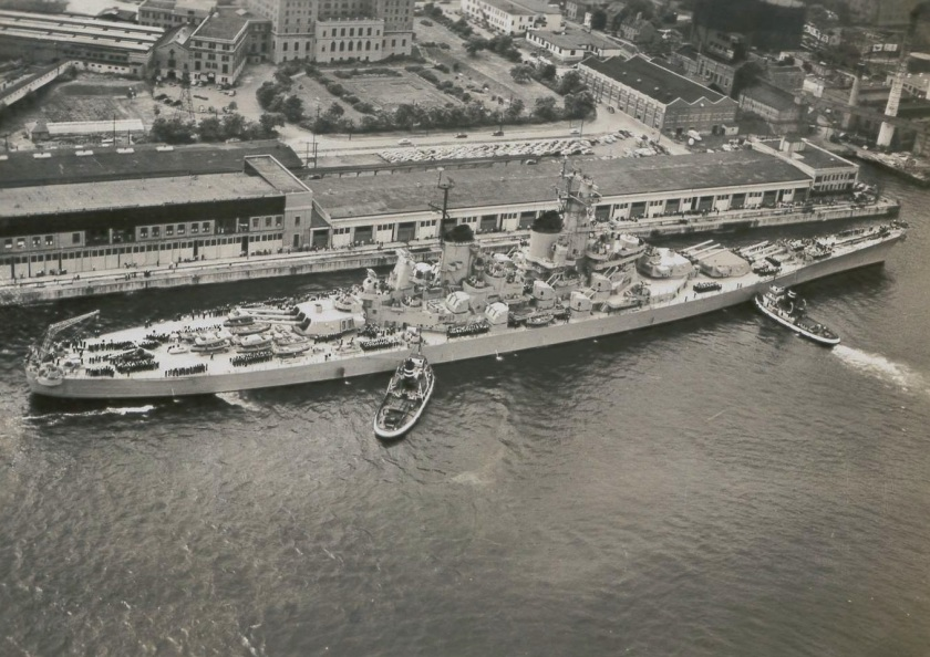 USS Wisconsin LAC DNS-5639 1951 HFX