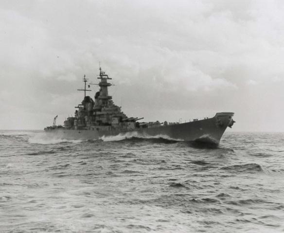 USS Wisconsin QB-622 1952