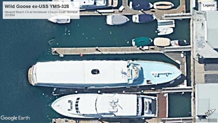 Wild Goose USS YMS 328 Newport Beach 2018