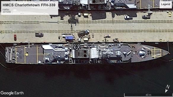 HMCS Charlottetown FFH-339 Halifax 2015