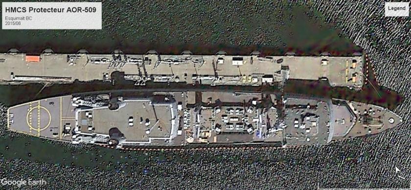 HMCS Protecteur Esquimalt 2015