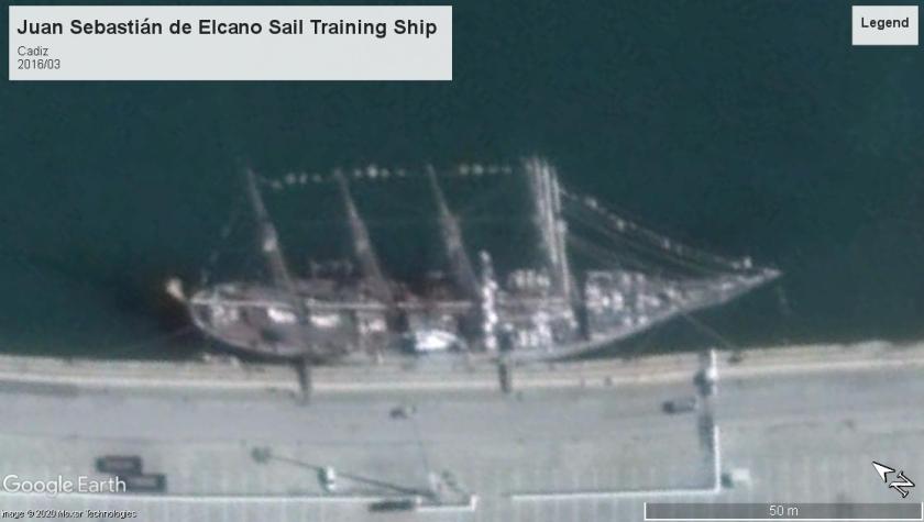 Juan Sebastián de Elcano Sail Training Cadiz 2016