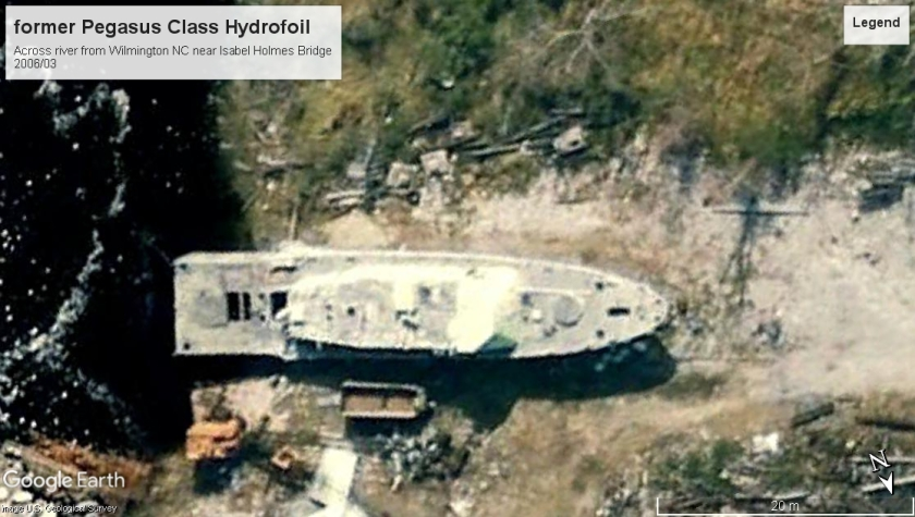 Pegasus class hydrofoil retired Wilmington 2006