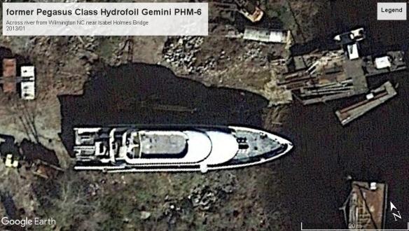 Pegasus class hydrofoil retired Wilmington 2013