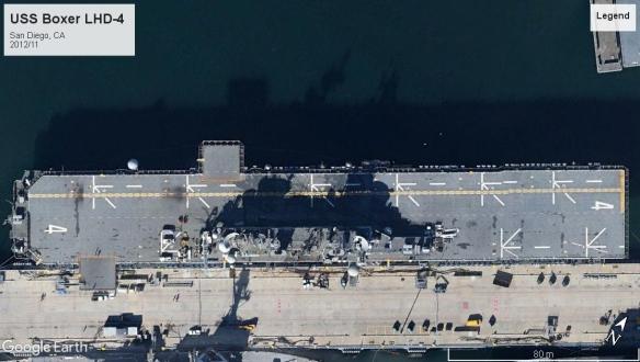 USS Boxer LHD-4 San Diego 2012