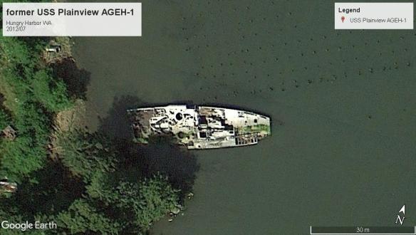 USS Plainview AGEH-1 Hungry Harbor WA 2012