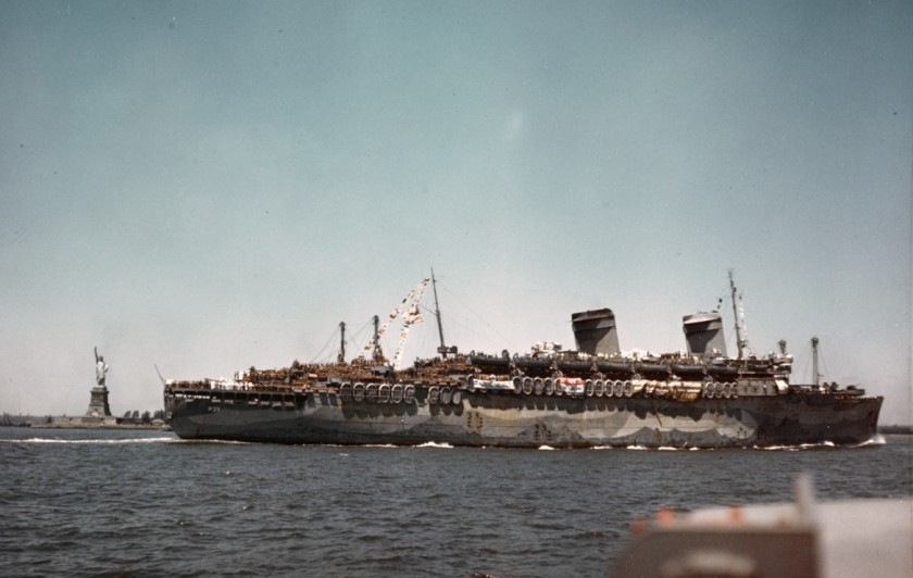 USS Westpoint - SS America NHHC detail 80-G-K-5783-A