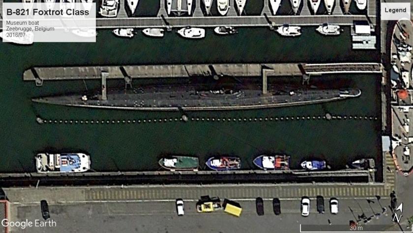 B-821 Foxtrot Zeebrugge 2016