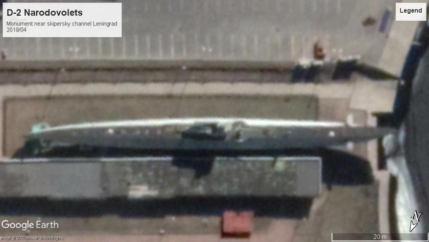 D-2 Narodovolets Leningrad 2019