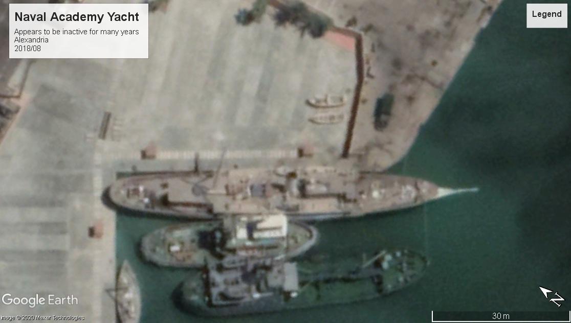 Egyptian Naval Academy Yacht Alexandria 2018
