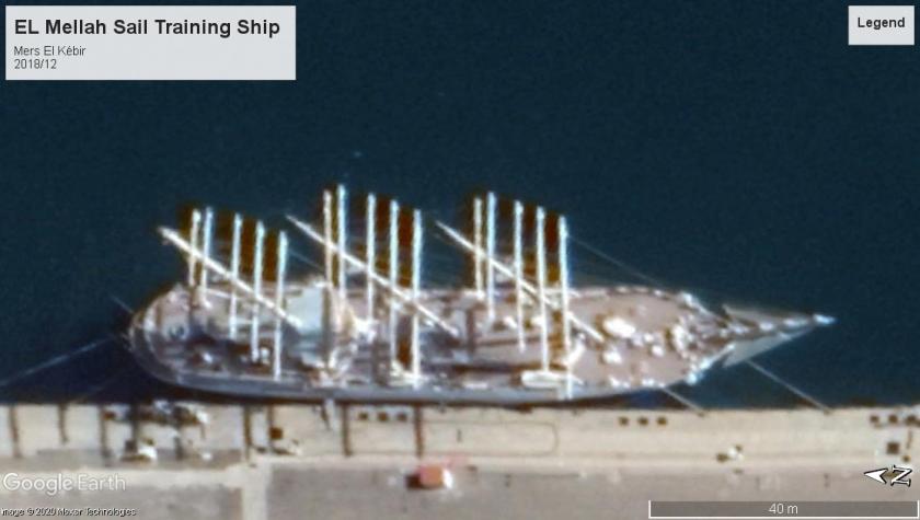 EL Mellah sail training ship mers el kebir 2018