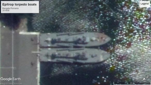 Epitrop torpedo boats Mangalia 2018