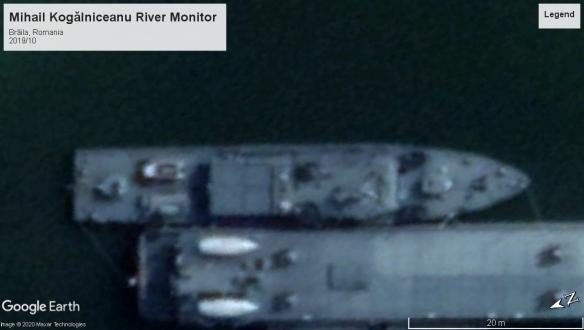 Mihail Kogalniceanu class river monitor Danube2019