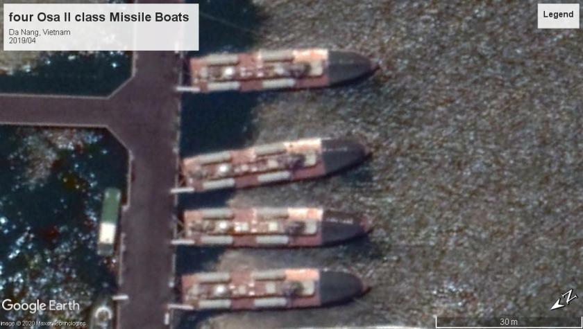 Osa II class missile boats Da Nang 2019