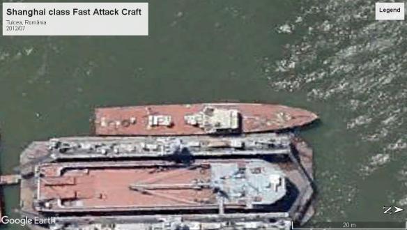 Shanghai class fast attach Tulcea 2012