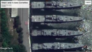 Tetal class corvettes Mangalia 2018