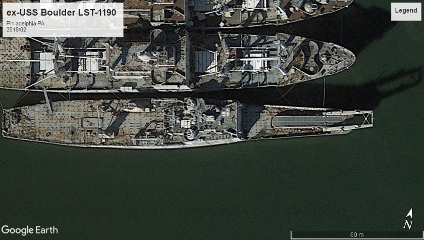 USS Boulder LST-1190 Philadelphia 2019
