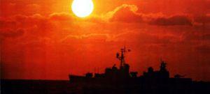 Gearing-class_destroyer_during_UNITAS_XIX_1978