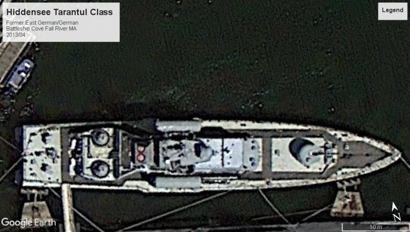 Hiddensee Tarantul Class Battleship cove MA 2013